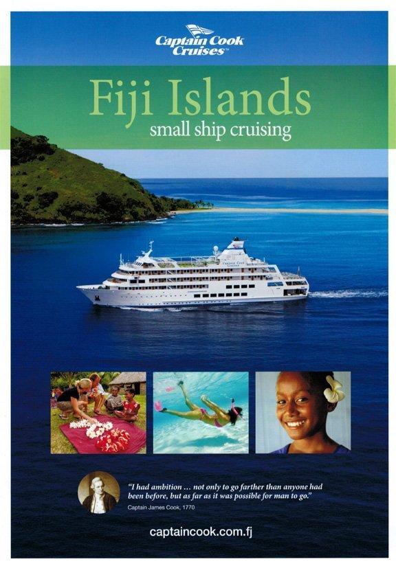 Captain Cook Cruises Fiji Launch 2014 Brochure  Traveltalk