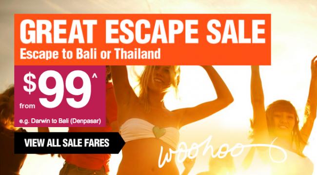 Jetstar Bali Sale Cops Criticism Traveltalk